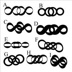 Double infinity tattoo ideas