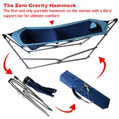 Medium image of find this pin and more on blatant consumeristic desires  zero gravity portable folding hammock