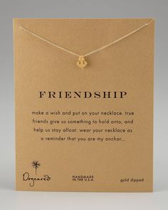 a cute best friend necklace :)