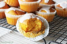 Najlepsze babeczki dyniowe, 1 Aga, Food And Drink, Cupcakes, Cooking, Breakfast, Sweet, Recipes, Thanksgiving Ideas, Diet