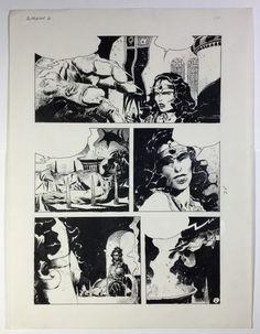 Catawiki, pagina di aste on line  Breccia, Enrique - Pagina originale - Avrak - (anni '80)