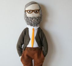 Handmade doll  Mr Sousa van matildebeldroega op Etsy