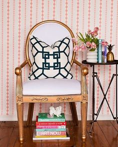 6 fresh ways to decorate with wallpaper today on theeverygirl.com //  @robbiecaponetto @societysocial