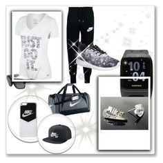 """""""E.N.E.R.G.Y"""" by richou978 ❤ liked on Polyvore featuring NIKE"""