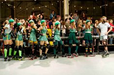 """Whip It roller derby team """"The Hurl Scouts"""""""