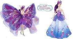 Barbie Fairytopia Mundo das Asas - Roxa