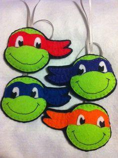 TMNT Teenage Mutant Ninja Turtles decorations or by LlamaLuau