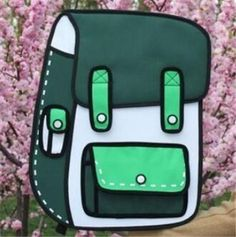 2D Cartoon Duluth Backpack
