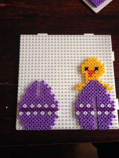 Easter egg hama perler beads by Dorte Marker