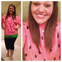 Watermelon diy halloween costume yay pants ive actually done watermelon costume easy diy solutioingenieria Gallery