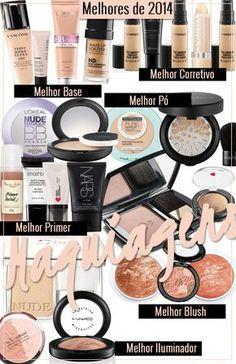 Os melhores produtos de maquiagem de 2014!