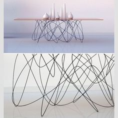 Starstrucked by that leg!  Photo from Real Simple. #Prettypegs #table #tablelegs