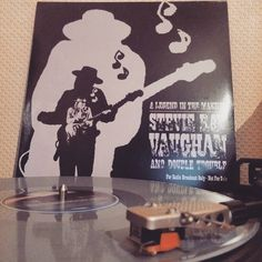 """Stevie Ray Vaughan And Double Trouble """"A Legend In The Making - Live At The El Mocambo"""" Limited Edition 2-LP Set on Grey and White Vinyl.  #stevierayvaughan  #liveattheelmocambo  #tommyshannon  #srv  #stevierayvaughananddoubletrouble  #bluesmusic  #bluesviny #vinylporn  #vinyl  #vinylcollection  #instagramhub  #instalike  #audiotechnica  #nowspinning  #spinning  #turntable  #vinylrecords #vinylcollector  #lgg3photography  #androidography  #vinylcollection  #vinylcommunity  #vinylbrotherhood…"""