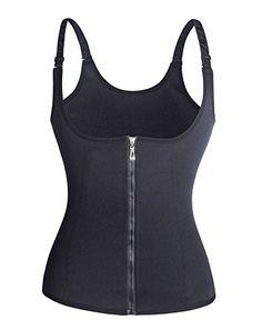 cd974e6e73 Women s Lingerie - Roseate Womens Body Shaper Tummy Fat Burner Sweat Tank  Top Weight Loss Shapewear Neoprene No Zip…