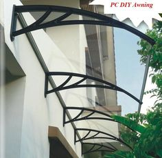FAB! ~ DIY Awning with PVC!  Who would ever guess?
