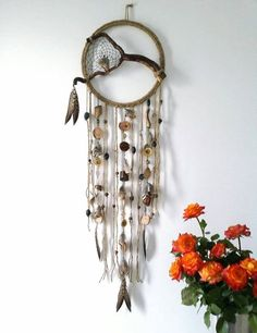 Check out this item in my Etsy shop https://www.etsy.com/uk/listing/474086877/boho-dream-catcher-woodland-decor-rustic