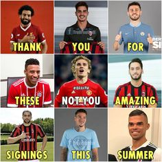 """Amazing signings this summer."""