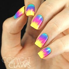 What manicure for what kind of nails? - My Nails Summer Acrylic Nails, Spring Nails, Summer Nails, Fall Nails, Diy Nails, Cute Nails, Pretty Nails, Gorgeous Nails, August Nails