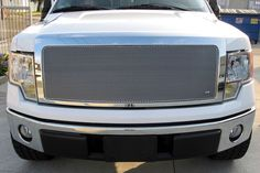 Grillcraft #FOR1311S Ford F-150 MX Grille Silver Upper Insert #Grillcraft #ChromeTrim