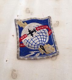 Vintage Army WWII Airways Communications Patch - militaria -Rare US Army Jacket Patch - 1940's Vintage WWII Patch - Military Collectible by IfoundVintage on Etsy