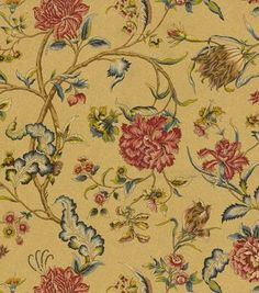 Home Decor Upholstery Fabric-Waverly Spice of Life / Sesame