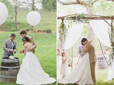 ♥Tons pastéis na decoração do casamento... | .