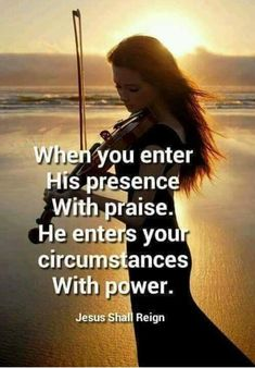 There is Power in Praise. God inhabits the praise of His people. The Lord reminds us that when we are feeling down or discouraged or hopeless, we do have a rememdy. We can CHOOSE to put on the Garm… Women Of Faith, Faith In God, Faith Quotes, Bible Quotes, Praise God Quotes, War Quotes, Devotional Quotes, Dance Quotes, Biblical Quotes