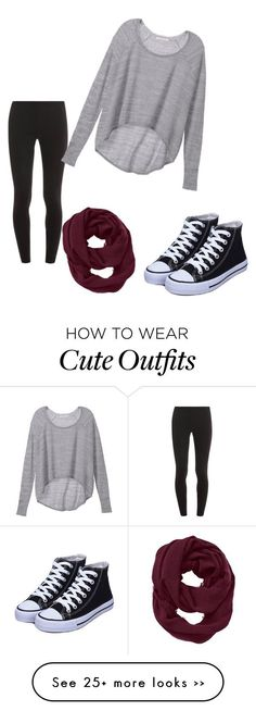 """""""cute fall outfit <3"""" by ariannamae1 on Polyvore featuring Splendid, Victoria's Secret and Athleta"""