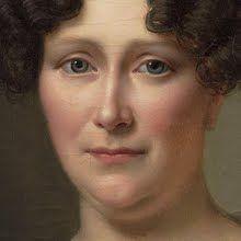 1826    Johanna Henriette Engelen, second wife of Daniel Francis Schas. By Alexandre Jean Dubois Drahonet (French, 1791-1834) rijksmuseum.nl                               suzilove.com