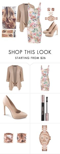 """""""Pastel Beauty"""" by teodoramaria98 ❤ liked on Polyvore featuring Pull&Bear, Yves Saint Laurent, Carolee, MICHAEL Michael Kors and Accessorize"""