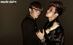 Jong Hyun, Key  - Marie Claire Magazine October Issue '12