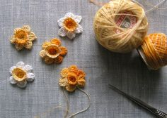 I have updated my shop with some new crochet hairclips, fabric flower hairclips and paper garlands. Hope you take a look!