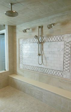 21 - Bathroom Inspiration | Michael David Design Center | #interiordesign #bathroom #tiledesign #luxuryhome #masterbath #shower #dreamhome