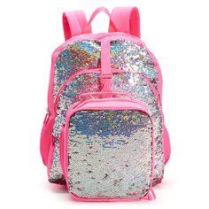 d5afa7b57072 Kids Flippable Sequin Backpack   Lunch Bag Set