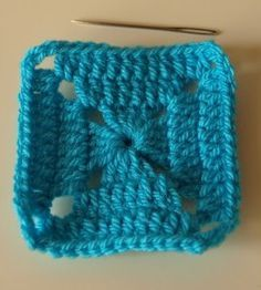 Solid Granny Squares Pattern (Elmer Squares)