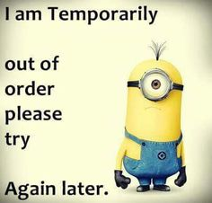 I'm out of order....xx