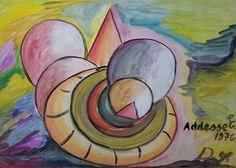 Stampa Artistica  Addesse Insinuazione N°23 cm.60x80 - Arte Collezione Arredo