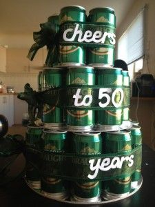 beer 50th birthday party ideas for men