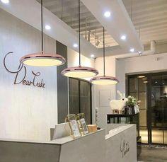 Post-Modern Nordic Circular LED Hanging Lamps – Warmly