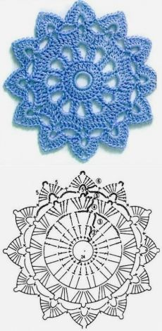 Good No Cost how to crochet diagram Concepts New Absolutely Free Crochet Doilies diagram Strategies Although lots of the doilies that you see in Free Crochet Doily Patterns, Crochet Earrings Pattern, Crochet Coaster Pattern, Crochet Doily Diagram, Crochet Circles, Crochet Motifs, Granny Square Crochet Pattern, Crochet Mandala, Tatting Patterns