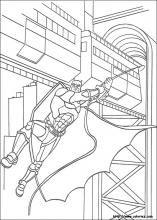 Mr Freeze Batman Coloring Book Page Printable