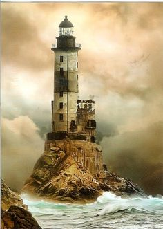 I've never seen a lighthouse in person...