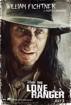 William Fichtner as Butch Cavendish in The Lone Ranger  Absolutely a fantastic movie that you have to see!