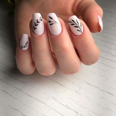 Nail art easy and trendy: ideas to celebrate the arrival of spring - Nails 02 Nail Art Ongles En Gel, Acrylic Nail Art, Nail Art Diy, Easy Nail Art, Acrylic Nail Designs, Cool Nail Art, Diy Nails, Cute Nails, Diy Art