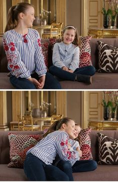 Princess Isabella and Princess Josephine talked about the many hugs they give each other in their family Denmark Royal Family, Danish Royal Family, Prince George Alexander Louis, Prince Carl Philip, Crown Princess Mary, Prince And Princess, Royal Photography, Prince Frederick, Danish Royalty