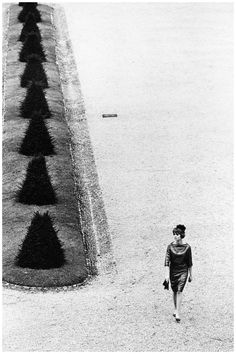 "Fashion photo for ""La Rinascente"" stores by Jeanloup Sieff, Vienna, 1961"