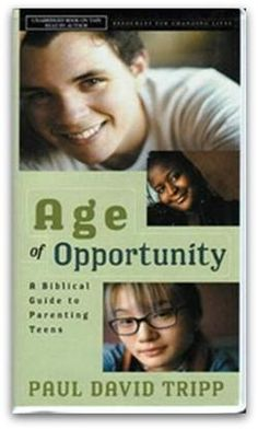 Age of Opportunity (Book)  Getting ready to start loving my Family  Recommend this book to all parents.