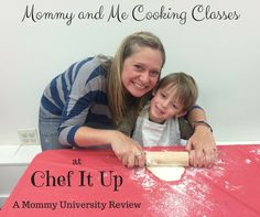 MOMMY AND ME FUN AT CHEF IT UP by Mommy University at www.MommyUniversityNJ.com Mommy and Me cooking classes in New Jersey (NJ) then check out Chef it Up