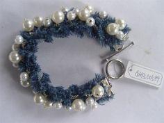 Denim_Bracelet_with_Pearl_Chain