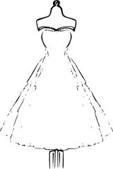 Image result for easy fashion sketches prom dresses